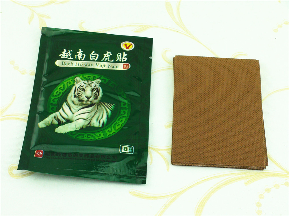 104 Pcs Vietnam White Tiger Balm Patch Cream Body Neck Massager Meridians Stress Pain Relief Arthritis Capsicum Plaster C161 16