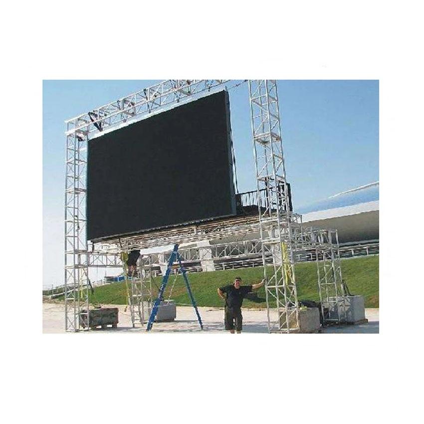 LED Display 576×576mm Die Casting Aluminum Cabinet, P6 Outdoor SMD2727 RGB Waterproof LED Screen Billboard
