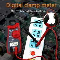 Multimeter Voltmeter Digitale Clamp Meter Strom Clamp AC DC Amperemeter Multi funktion Diode Feuer Draht Tester MT 87 Clamp Meter-in Clamp Meter aus Werkzeug bei