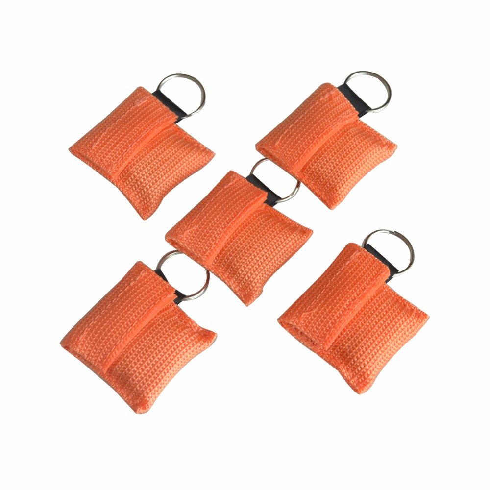 50 Pcs Lot Cpr Mask With Keychain Face Shield For Aed Prototype Pcb Circuit Panel Solder Diy 50x70 Board Orange Color New