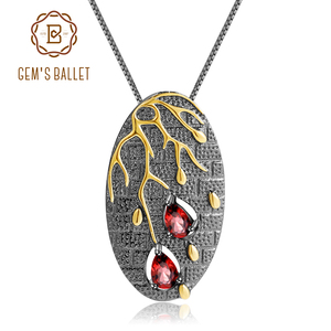 Image 1 - GEMS BALLET de 925 de plata esterlina hecho a mano Original pétalo Floral colgante collar 0.39Ct amatista Natural bien de la joyería para las mujeres