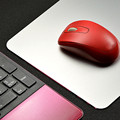 Aluminum alloy Mousepad Both Sides Can Be Used Game Metal Super Smooth Mouse Wrist Pad