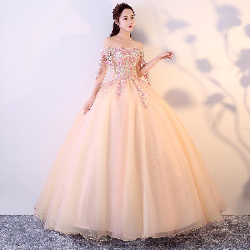 Livraison gratuite floral broderie tassles longue robe vintage médiévale Renaissance princesse victorienne robe/Marie robe de bal