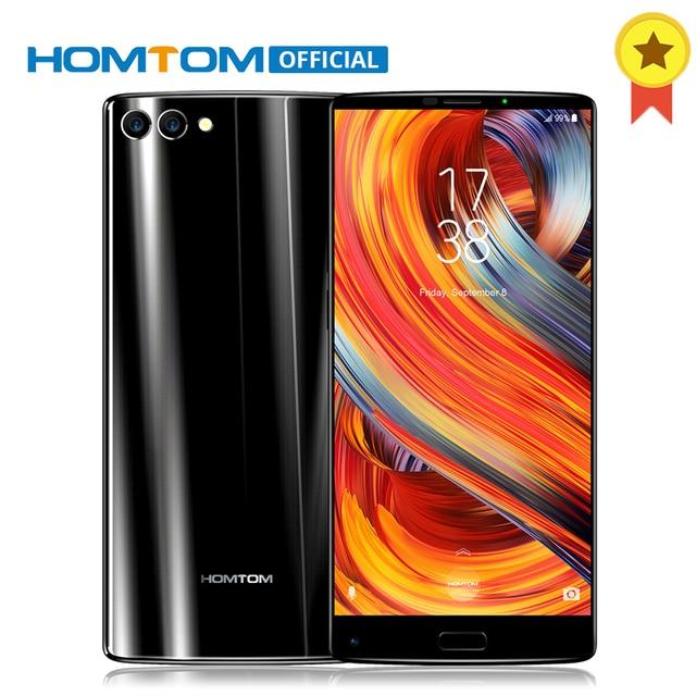 "HOMTOM S9 Plus 5.99"" Tri-bezelless 18:9 HD+ Full Display MTK6750T Octa Core 4G RAM 64 ROM 4050mAh Dual Back Camera Smartphone"
