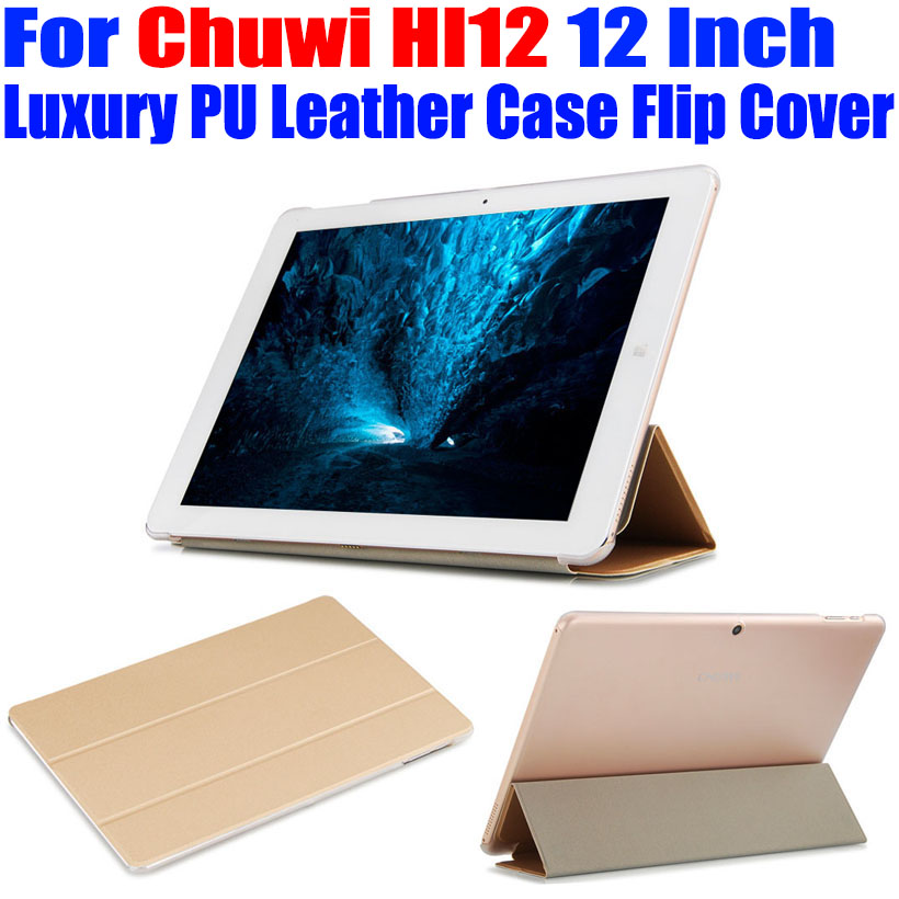 Tablet pc Case For Chuwi HI12 12 Inch Original Luxury Crystal Back PU Leather Case Flip Cover For Chuwi HI 12 CW02 original chuwi hi12 rotating keyboard case protective tablet case removable 12 inch tablet keyboard for hi12 tablet pc stand