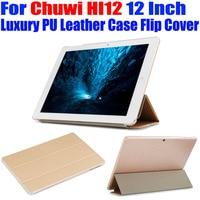 Tablet Pc Case For Chuwi HI12 12 Inch Original Luxury Crystal Back PU Leather Case Flip
