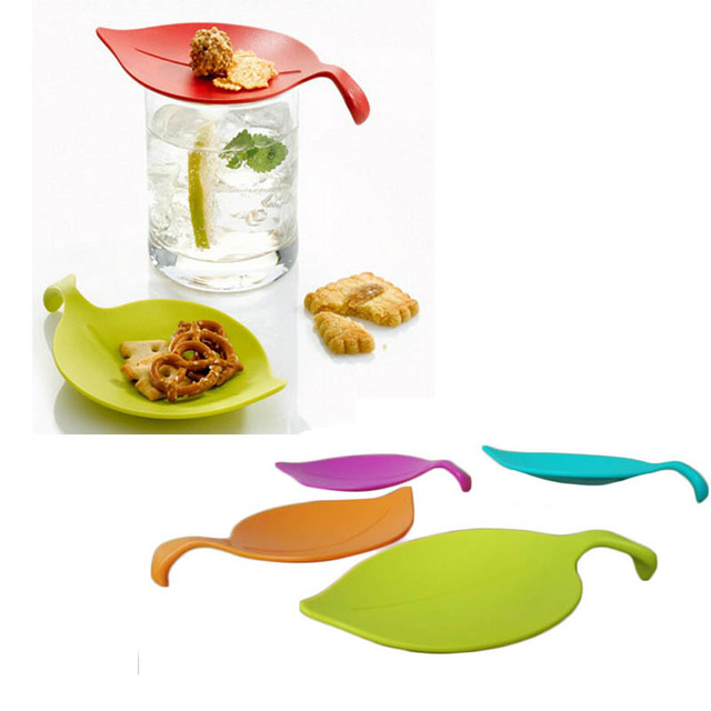 4pcs/set Multipurpose Cup Covers Small Plate Sauce Lemon Leaf Cup Lid Snack Plate Cup  sc 1 st  AliExpress.com & 4pcs/set Multipurpose Cup Covers Small Plate Sauce Lemon Leaf Cup ...