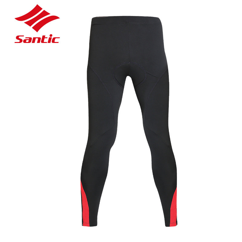 Santic Cycling Pants Men Long Winter Fleece keep Warm Bicycle Trouser MTB Road Downhill Bike Pants Cycling Clothing Ciclismo santic cycling pants road mountain bicycle bike pants men winter fleece warm bib pants long mtb trousers downhill clothing 2017
