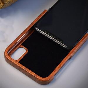 Image 4 - מגולף טייגר הדרקון יוקרה עץ טלפון מקרה עבור iPhone X XS Max XR 5 5S 6 6 בתוספת 6S 7 8 בתוספת iPhone se 2020 מלא עץ מקרה כיסוי