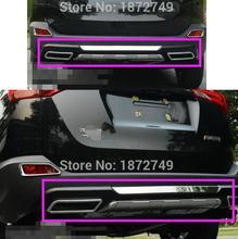Для 2013 2014 2015 Toyota RAV4 Задний Бампер Протектора автомобиля для укладки