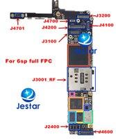 1 set/lotto = 9 pz, set completo per il iphone 6SP 5.5 LCD/tocco della macchina fotografica del volume di potere tasto home caricabatterie connettore FPC batteria sim