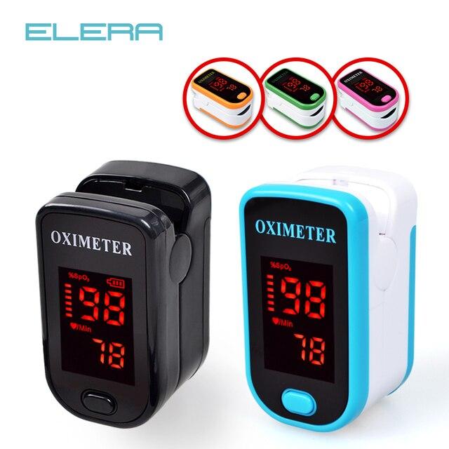¡Nuevo! Dedo oxímetro de pulso con el caso del dedo del Oximetro de pulso de dedo LED oxímetros de pulso saturador Pulsioximetro