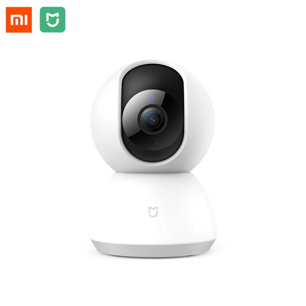 Xiao mi jia Smart IP Cámara 110 grados 1080 p PAN TILT versión mejorada conexión Wifi seguridad inteligente para mi casa App