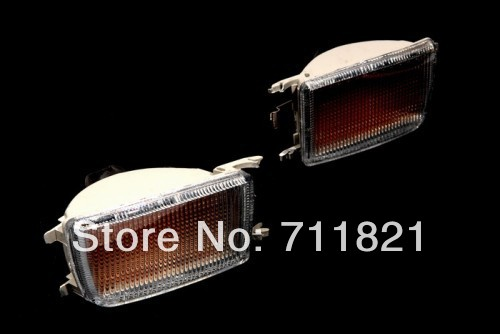 Прозрачная пластиковая передняя линза бампер сигнала поворота света для Фольксваген Джетта / Венто МК3