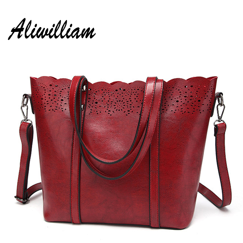 Soft Leather Totes Women Bucket Bag Luxury Brand Lace Handbags Ladies Shoulder Bags Mujer Bolsas Female Top-handle Bags TY-S11 2017 new women shoulder bags solid pu leather handbags ladies brand designer bucket handbag purse bolsas feminina casual totes