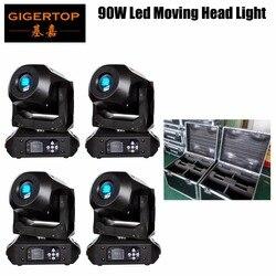 4in1 walizka na 90 W Led ruchome światło głowy Mini 15CH DMX512 oświetlenia scenicznego do DJ KTV Disco Party ślub efekt oświetlenia