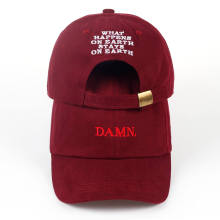 2017 ne'w wine red kendrick lamar damn cap embroidery DAMN. unstructured dad hat bone women men the rapper baseball cap