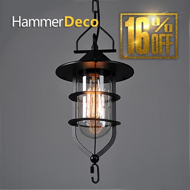 Schuur Lantaarn nostalgische vintage hanglampen project lichtbalk ...