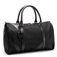 Мужская нейлоновая ручная сумка для деловой поездки переносная дорожная складная сумка на плечо большая емкость багажная сумка