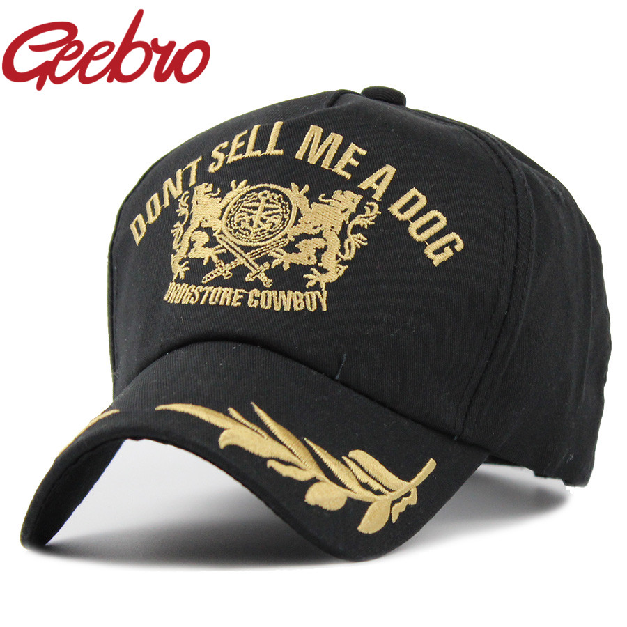 1a6465e844c3b New Arrival Double lion Snapback Baseball Cap Leaf Embroidery Dad Hat  Casual Cotton Full Closed Brand Hats for Men Women JS002
