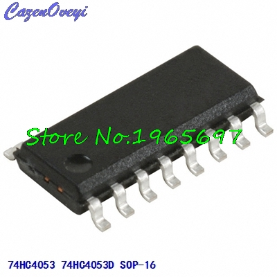 10pcs/lot 74HC4053D 74HC4053 SOP-16 New Original