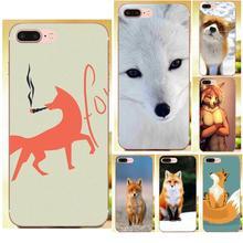 Animals Cute Fox For Ipod Touch Case Pretty For Sony Xperia Z Z1 Z2 Z3 Z4 Z5 compact Mini M2 M4 M5 T3 E3 E5 XA XA1 XZ Premium