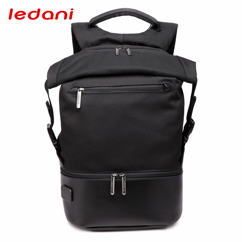 LEDANI Unisex Light Slim Backpack Women Laptop Backpack Men Cool Urban Backpacks School Bag Leisure Travel Large Capacity Bags new vintage backpack canvas men shoulder bags leisure travel school bag unisex laptop backpacks men backpack mochilas armygreen