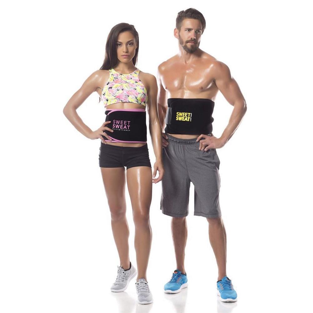 Dropshipping Hommes Femmes Minceur Ceinture Body Shaper Taille Soutien du Formateur Fitness Contrôle Tummy Trimmer Shapewear SUEUR DOUCE