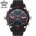 Três Movimento Relógios Casuais Homens Top De Luxo Da Marca Designer Liga Relógio de Quartzo Digital de Moda Grandes Relógios montre hommeWS1159 IP