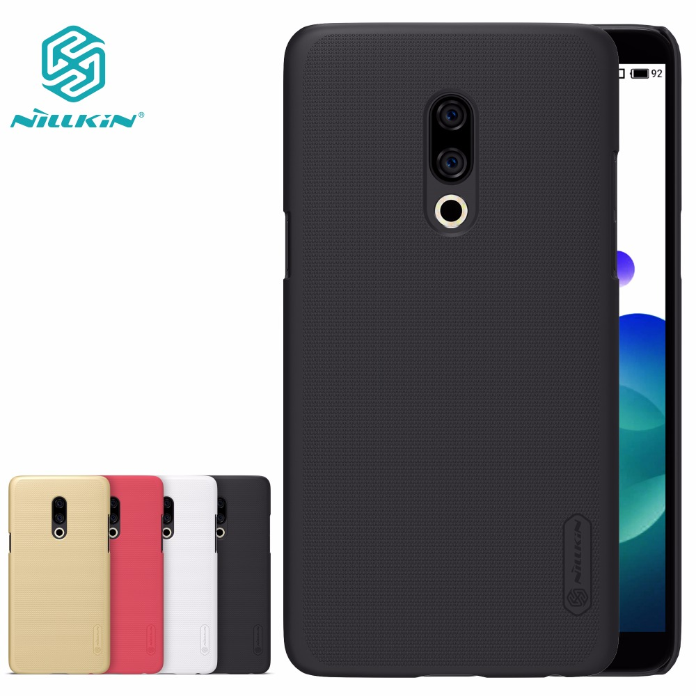 NILLKIN Super Frosted Shield Back Cover Case For Meizu 15 Lite Pro 7 Hard Case For Meizu E3 M5C M6S M6 Note 6 M8 Note