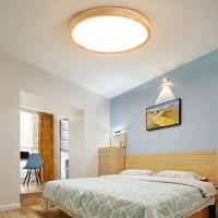 Nieuwe LED plafondlamp massief houten lamp woonkamer slaapkamer licht hal balkon LED plafondlamp keuken plafond verlichting surface mount