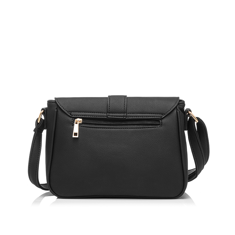 89ff96fcdf REALER Brand Women Simple Crossbody Bag 2016 Solid Baguette Bag Girl s Top  Grade Black Small Messenger Bags-in Crossbody Bags from Luggage   Bags on  ...