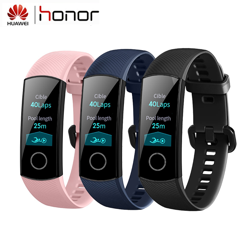 Huawei Honor Band 4 Smart Bracelet Fitness 0 95in Color AMOLED Touch Screen Tracker Activity Real