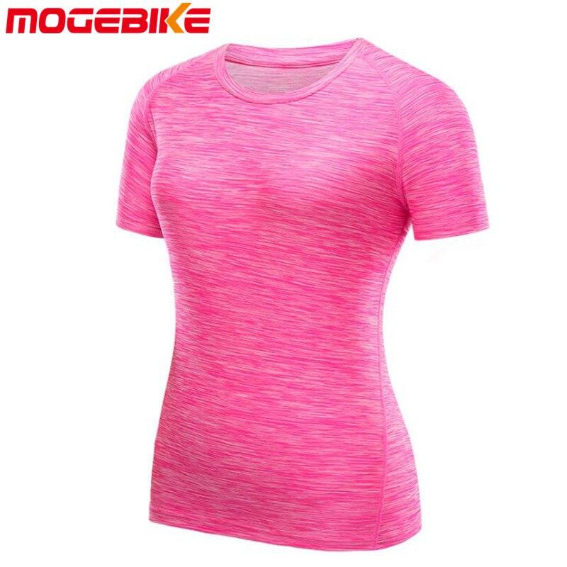 MOGEBIKE Cycling Jerseys Base-Layers Clothing Shirt Short-Sleeve Mesh Pro Cool Breathable