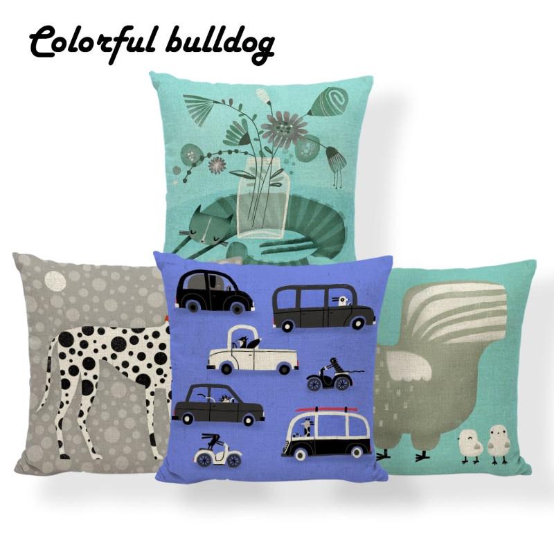 Detail Feedback Questions About Bear Stripe Flower Cushion Dalmatian