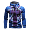 TFGS New Mens Sweatshirts Printed Fleece Hoody Hoodies Tops Clothing Outwear