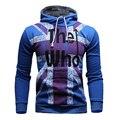 Tfg nuevos mens clothing sudaderas impreso fleece con capucha sudaderas con capucha tops outwear