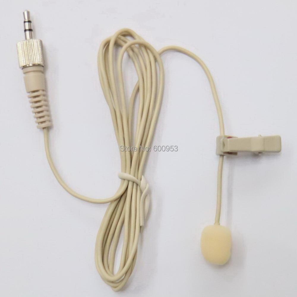 MiCWL Clip Wireless Lavalier Risvolto Mic Microfono per WRT-805, UTX-B1, UTX-B2, UTX-B03, Serie UWP e Sennheiser G1 G2 G3