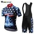 Weimostar 2019 pro team USA набор Джерси для велоспорта Одежда для велоспорта mtb дорожный велосипед Джерси Ropa Ciclismo