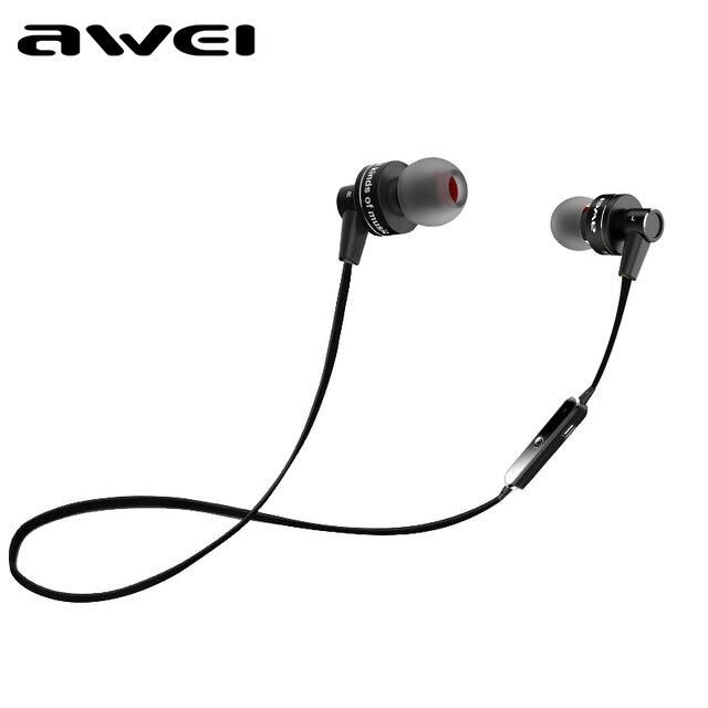 2016 Новые Оригинальные AWEI A990BL Универсальный Беспроводной Bluetooth 4.0 Спорт Наушники В Уши Наушники Для Sony Z2 Z3 Sumsang S6