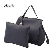 Luxury Brand Women Backpacks 2PCS School Bags Fashion Solid PU Leather Small Backpacks Travel Leisure Backpacks