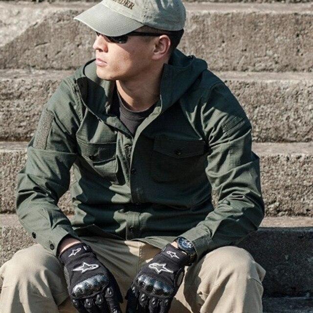 Aliexpress.com : Buy Men Tactical SWAT Hooded Shirt Waterproof ...