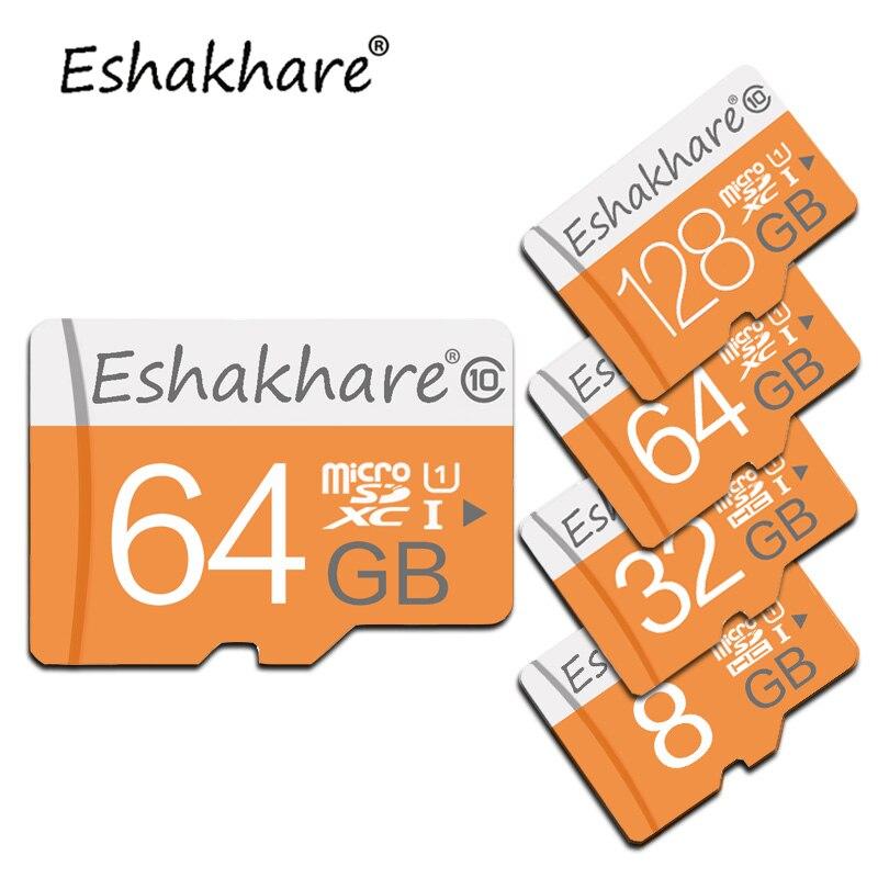 С бесплатным адаптер карты памяти 8 ГБ 16 ГБ 32 ГБ 64 ГБ 128 ГБ Micro sd Card 4 ГБ картао de memoria usb Flash флешки Micro sd карты ...