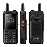 Мобильный телефон рация телефон IP65 водонепроницаемый ударопрочный Zello прочный смартфон MTK6737M четырехъядерный Android клавиатура особенности т