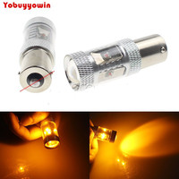 2x CANBUS 30w Bau15s PY21W 1156 Pin Offset High Power Led Car Turn Signal Bulb Tail