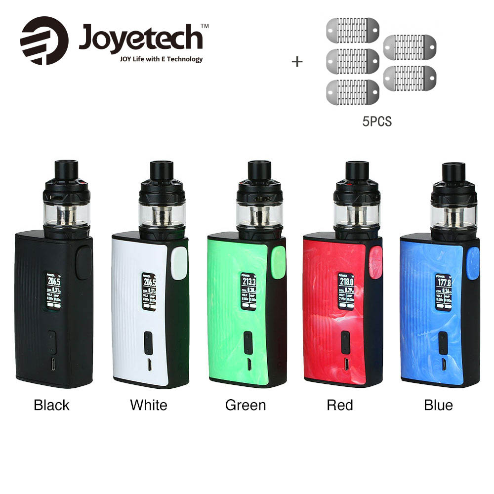 Original Joyetech ESPION Tour 220W TC Kit with 5ml Cubis Max Tank NCFilmTM Heater no 18650