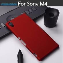 цена на Matte Phone Case For Sony Xperia M4 Aqua E2303 E2353 E2306 Dual E2333 E2363 E2312 M4Aqua 5.0 inch Back cover Hood Hybrid Case