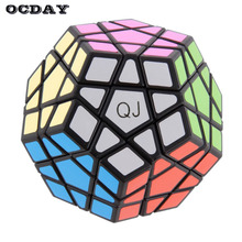 Baru panas! Mainan Khusus 12-sisi Megaminx Magic Cube Puzzle Speed ​​Cubes Toy Pendidikan
