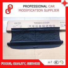 Black beige color Rear Trunk Security Shield retractable Cargo cover Tonneau cover for Sma