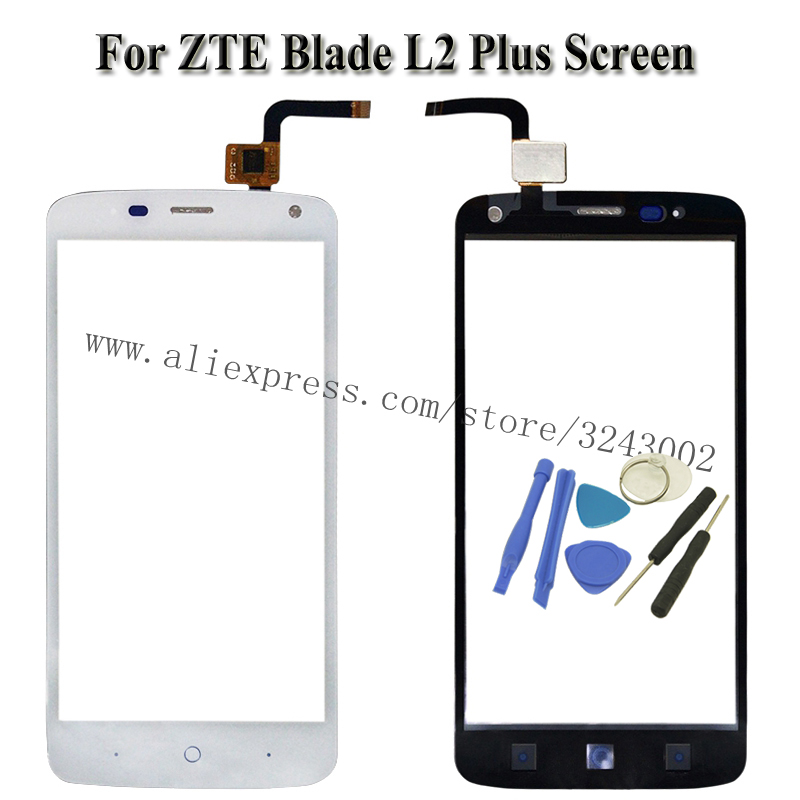 Touch Screen Outer Glass Panel For Zte Blade L2 Plus L370